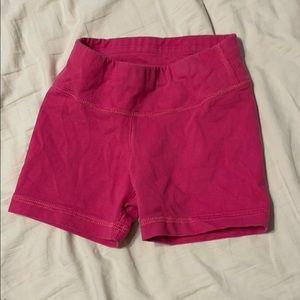 3/15- Hannah Andersson Pink Bike Shorts- sz 3